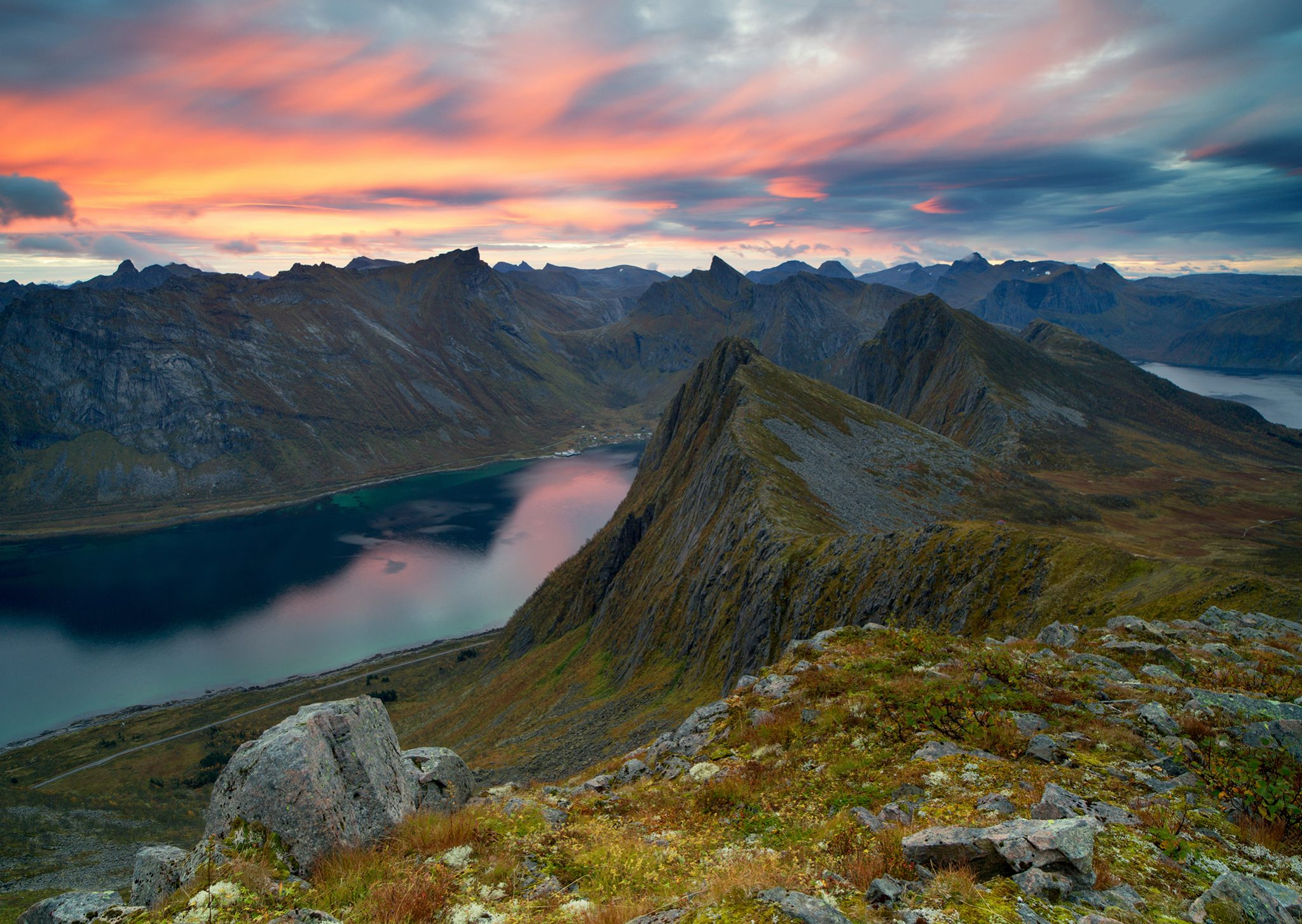 Северная Норвегия. Остров Сенья