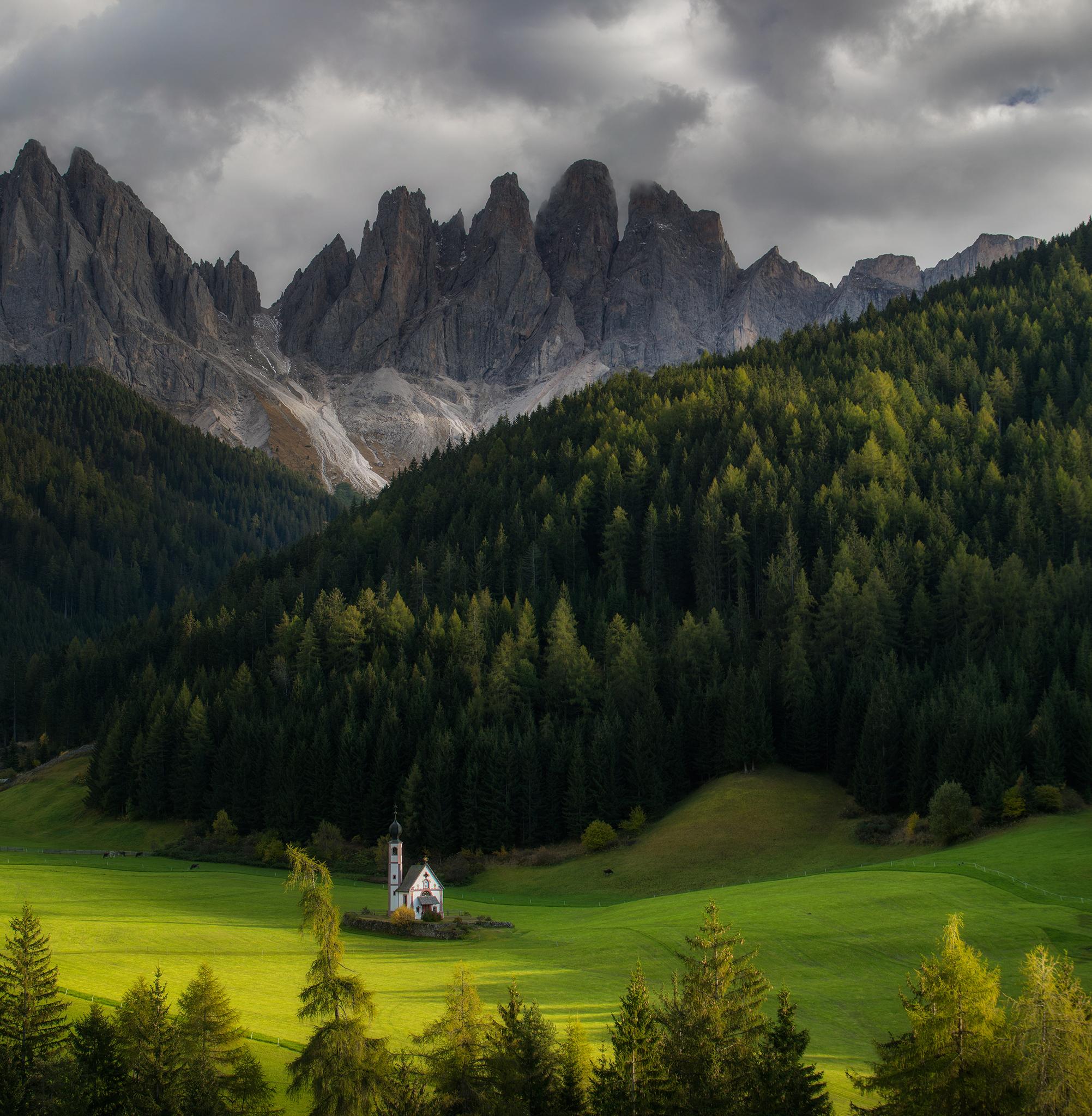 Осень в Доломитовых Альпах 2021